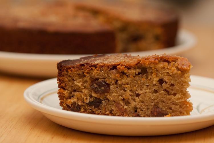 Cinnamon & Orange Fruit Cake