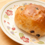 Yorkshire Teacake on a plate.